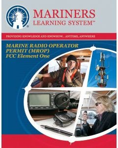 FCC MROP – Marine Radio Operator Permit (MP) – Element 1 Online Course and Exam
