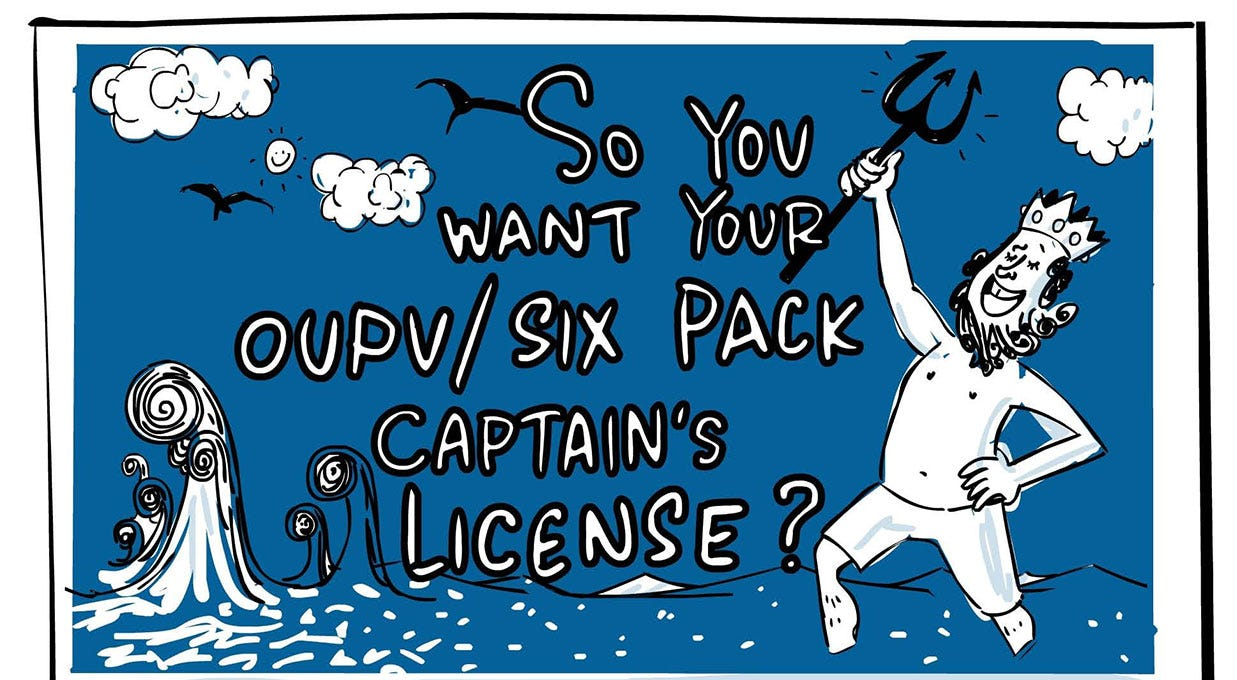 Infographic: How to Get Your OUPV License