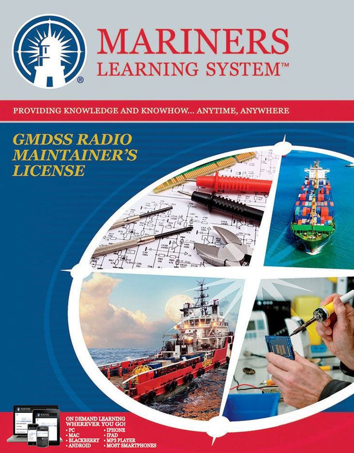 GMDSS Radio Maintainer's – DM (Elements 1, 3, 9) Practice Test Book
